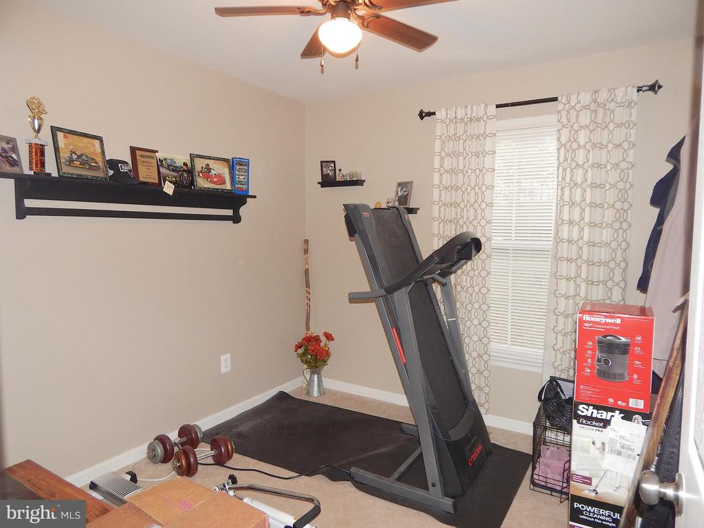 Bedroom 2 currently used as exercise room - 6307 TOWLES MILL RD, SPOTSYLVANIA
