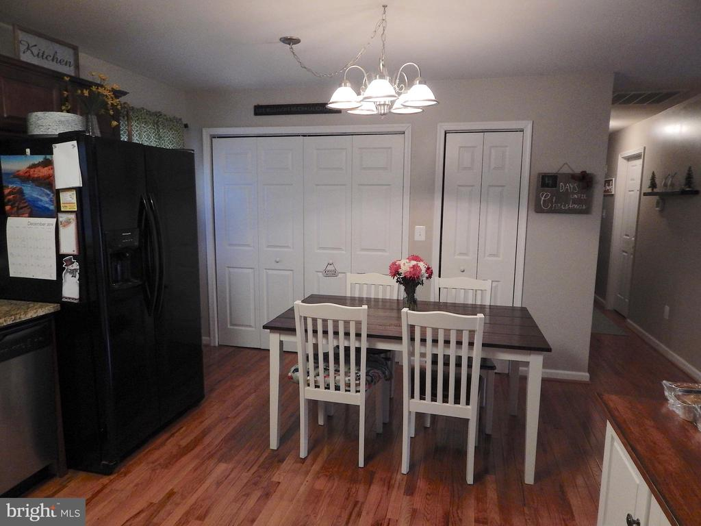 Big table area, pantry, laundry - 6307 TOWLES MILL RD, SPOTSYLVANIA