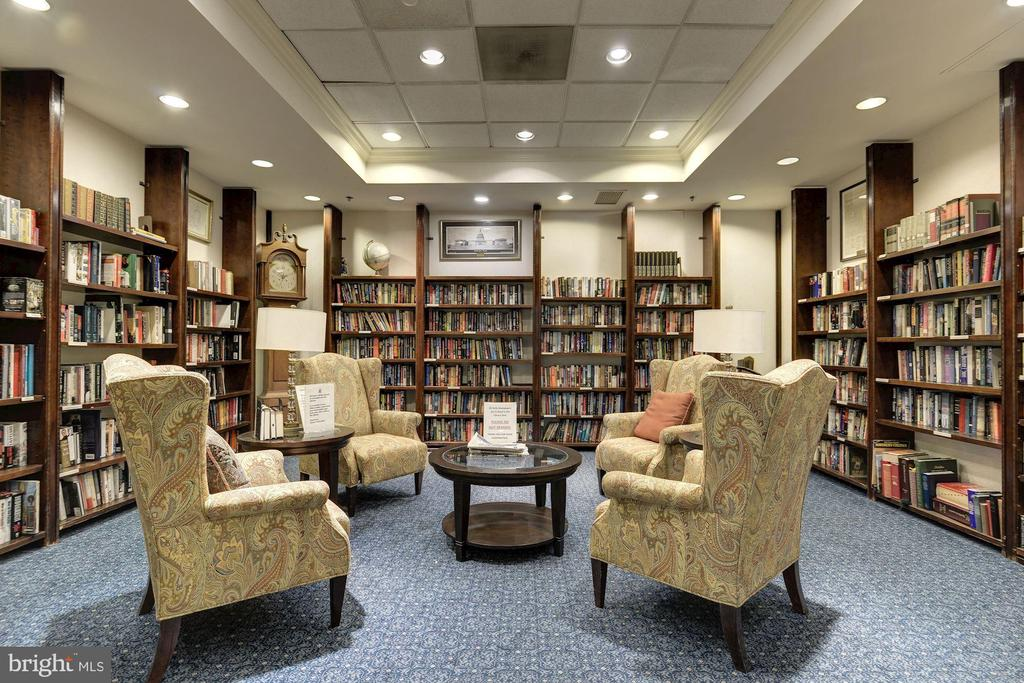 Library/Reading area - 900 N TAYLOR ST #1426, ARLINGTON