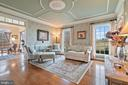 Beautiful hardwoods compliment the living room - 37239 HUNT VALLEY LN, PURCELLVILLE
