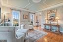 Detailed trim in living room. - 37239 HUNT VALLEY LN, PURCELLVILLE