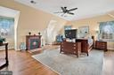 Master bedroom suite with dormer views . - 37239 HUNT VALLEY LN, PURCELLVILLE