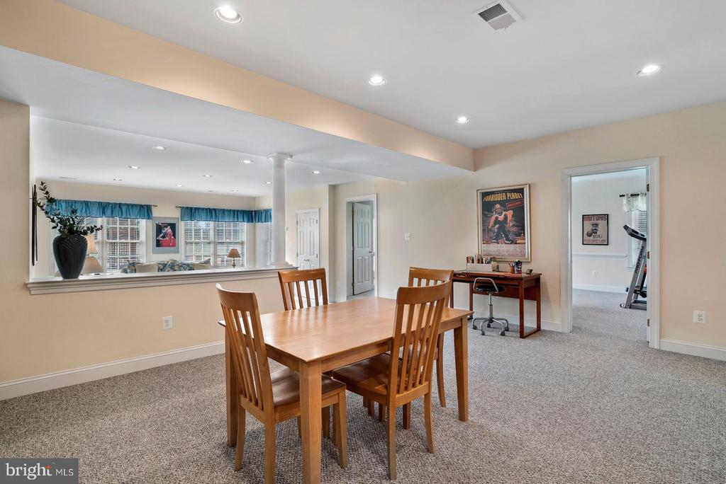 Lower level is walkout with lots of windows - 37239 HUNT VALLEY LN, PURCELLVILLE