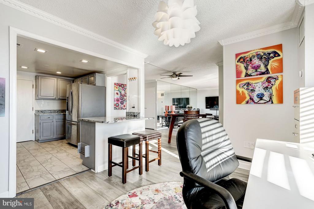 Dining room - 250 S REYNOLDS ST #801, ALEXANDRIA
