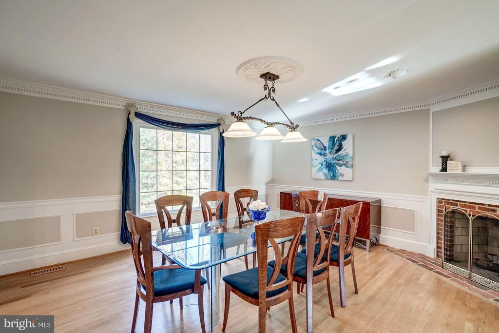Dining Room - 1044 RECTOR LN, MCLEAN