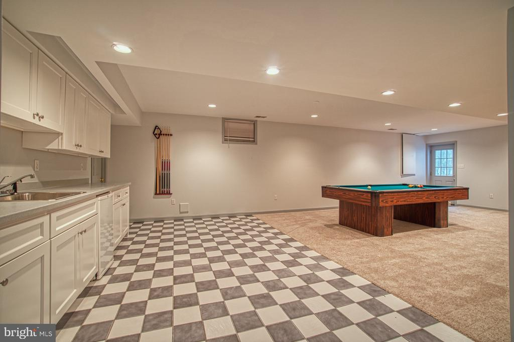 Lower Level Recreation Room - 3896 GLENBROOK RD, FAIRFAX