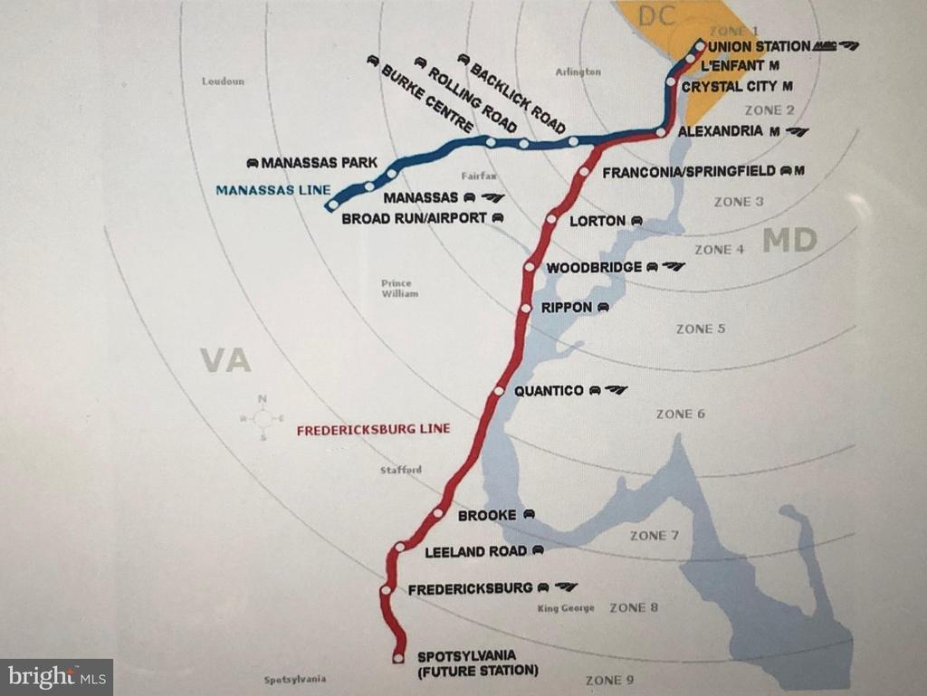 Virginia Railway Express Route for Commuters - 9226 KRISTY DR, MANASSAS PARK