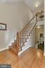 BACK STAIRS TO IN-LAW SUITE - 10246 STRATFORD AVE, FAIRFAX