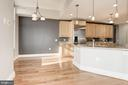 Eating space in kitchen - 11990 MARKET ST #1714, RESTON