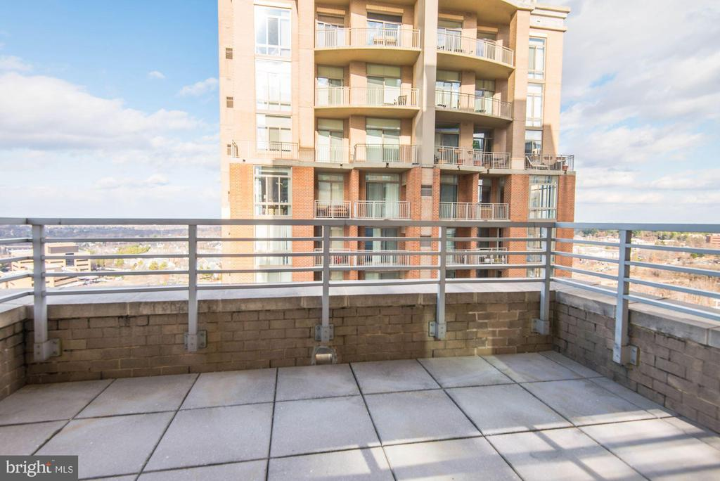 Large End Unit  Deck - 11990 MARKET ST #1714, RESTON