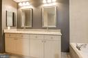 Master bath - 11990 MARKET ST #1714, RESTON