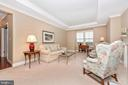 Living Room - 3030 MILL ISLAND PKWY #408, FREDERICK