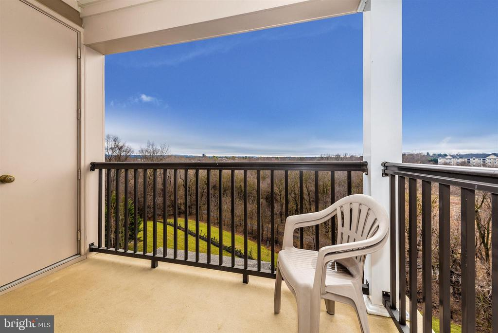 Family Room Balcony - 3030 MILL ISLAND PKWY #408, FREDERICK