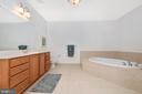 Master Bath - 3030 MILL ISLAND PKWY #408, FREDERICK