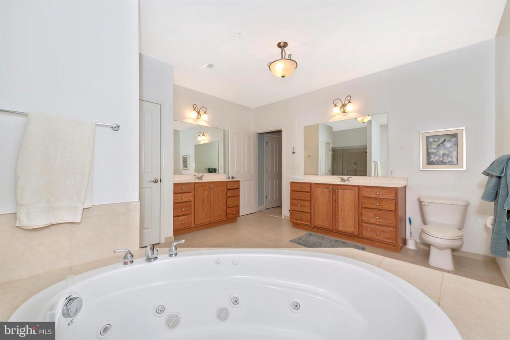 Master Bath Double Vanites - 3030 MILL ISLAND PKWY #408, FREDERICK