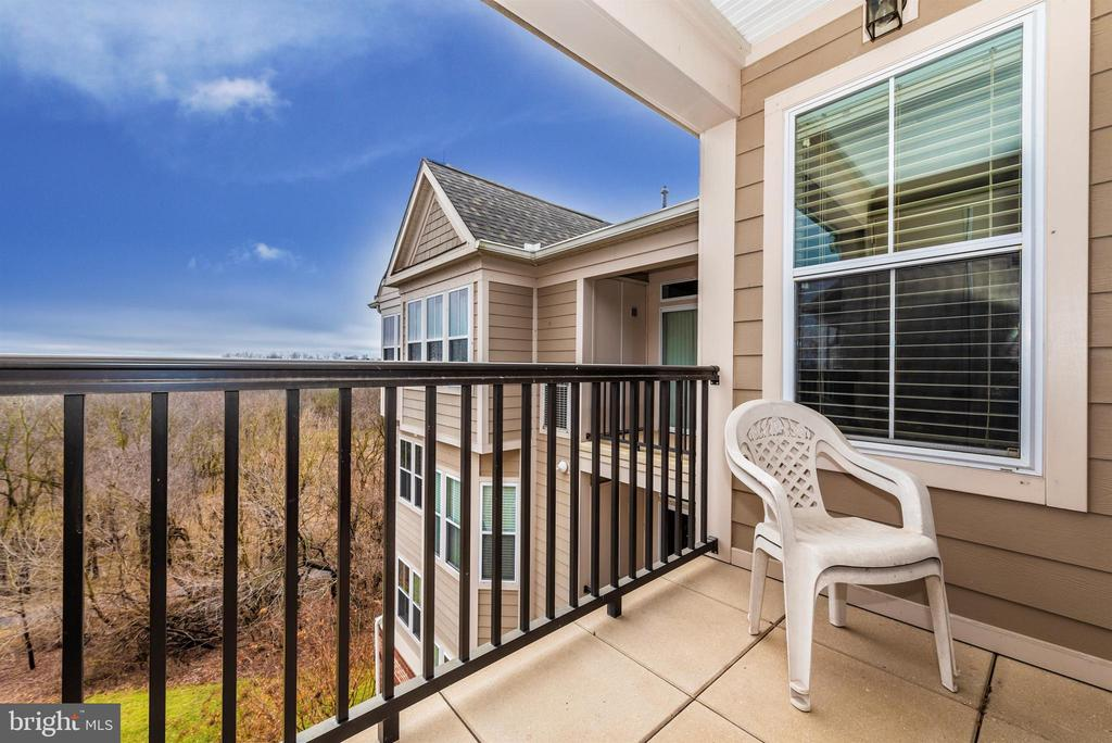 Master Bedroom Balcony - 3030 MILL ISLAND PKWY #408, FREDERICK