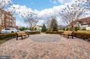 Exterior Building Patio Seating - 3030 MILL ISLAND PKWY #408, FREDERICK