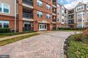 Exterior Building Brick Walkway - 3030 MILL ISLAND PKWY #408, FREDERICK