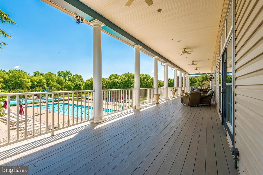 View From Club House - 3030 MILL ISLAND PKWY #408, FREDERICK