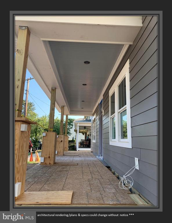 This Porch Will Be Finished with Composite Decking - 812 WEEDON ST, FREDERICKSBURG