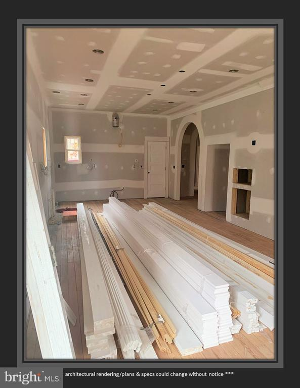 This Massive Space Will Be the Kitchen - 812 WEEDON ST, FREDERICKSBURG