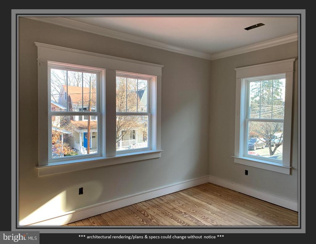 Craftsman Style Window Trim - 812 WEEDON ST, FREDERICKSBURG