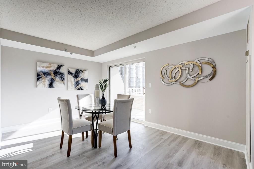 Dining room - 900 N TAYLOR ST #1426, ARLINGTON