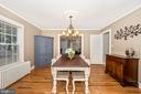 Dining Rooms - 406 CENTER ST, FREDERICK