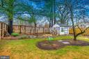 Back Yard and Chicken Coop - 406 CENTER ST, FREDERICK