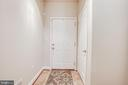 Bright entry with tiled floor - 4515 POTOMAC HIGHLANDS CIR #133, TRIANGLE