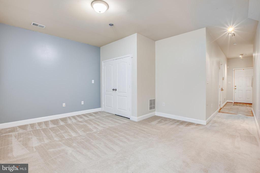 Lower Level Rec Room Has Many Options For Use! - 4515 POTOMAC HIGHLANDS CIR #133, TRIANGLE