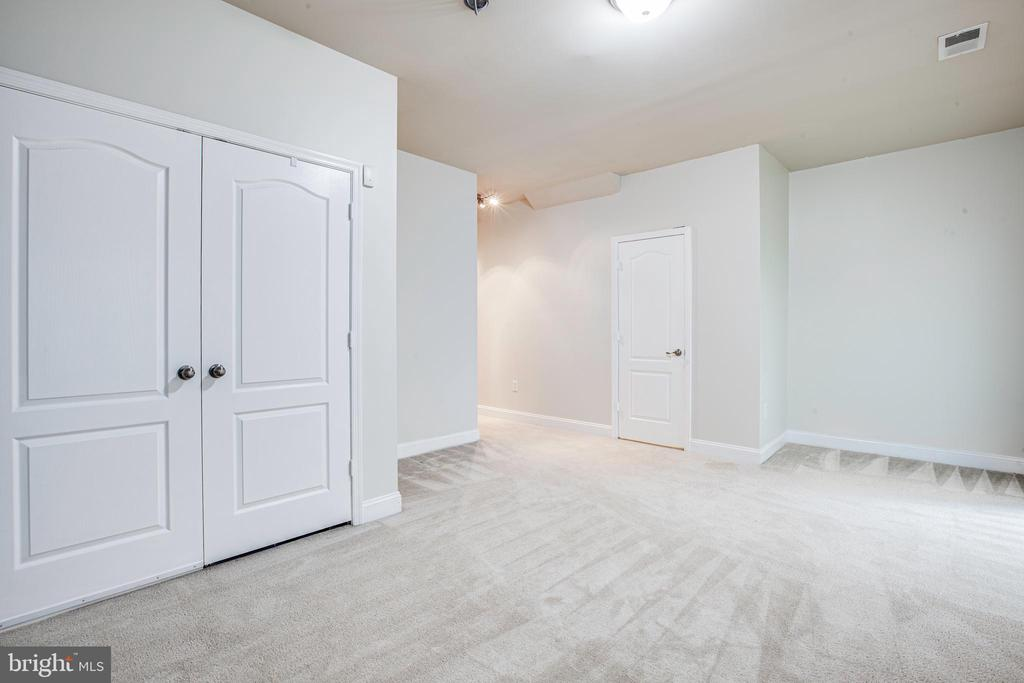 Lower Level Walkout Basement With Half Bath - 4515 POTOMAC HIGHLANDS CIR #133, TRIANGLE