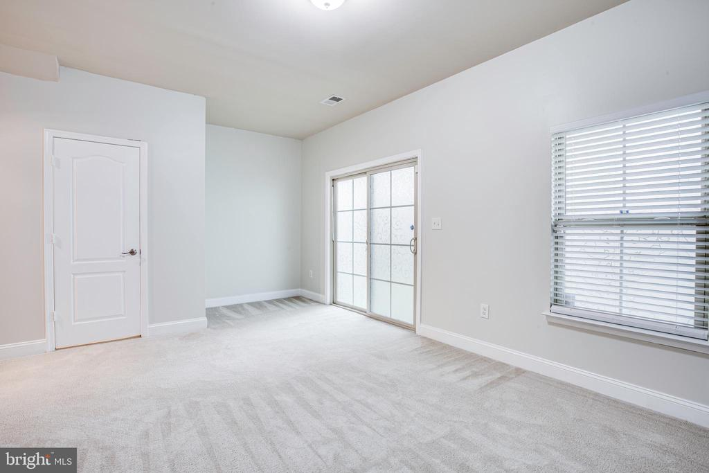Lower level Basement Is Filled With Natural Light! - 4515 POTOMAC HIGHLANDS CIR #133, TRIANGLE