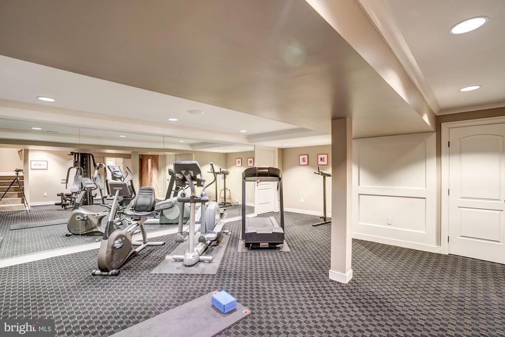 Fitness Room - 6126 RAMSHORN DR, MCLEAN
