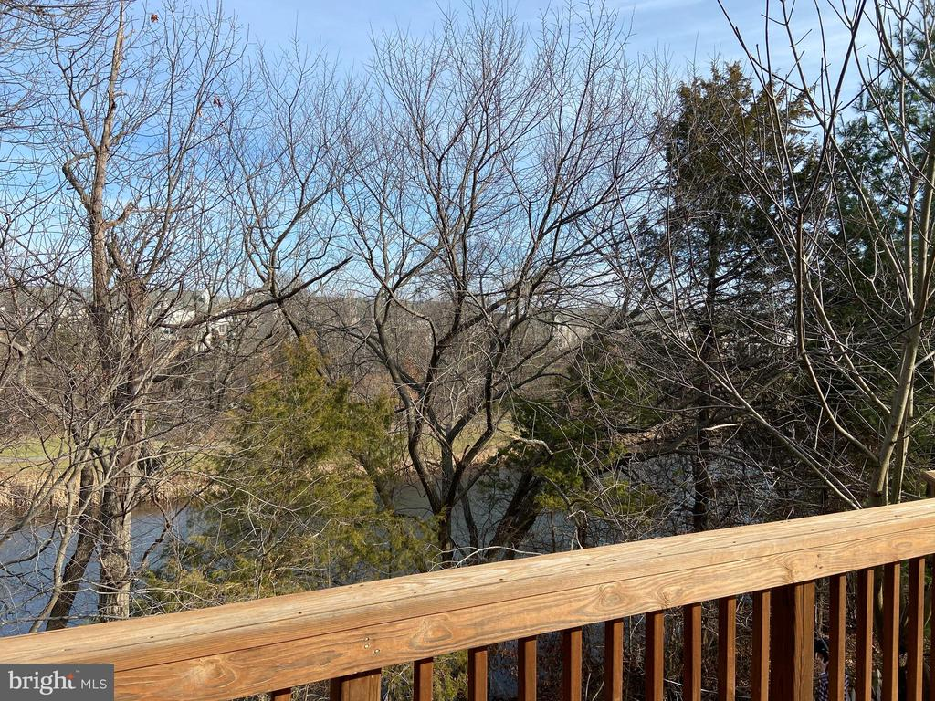 View from the deck - 21072 CARTHAGENA CT, ASHBURN