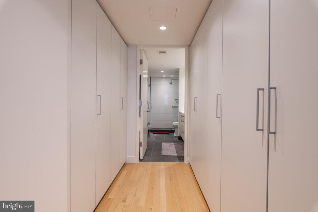 OWNER'S HALL OF CLOSETS - 1177 22ND ST NW #1C, WASHINGTON