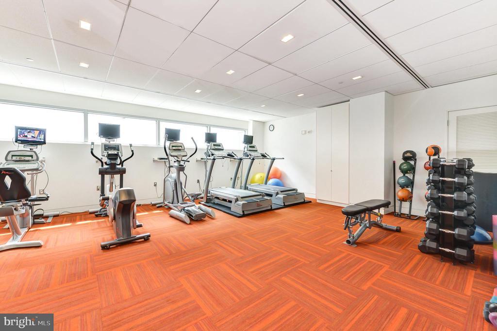 EXERCISE ROOM - 1177 22ND ST NW #1C, WASHINGTON