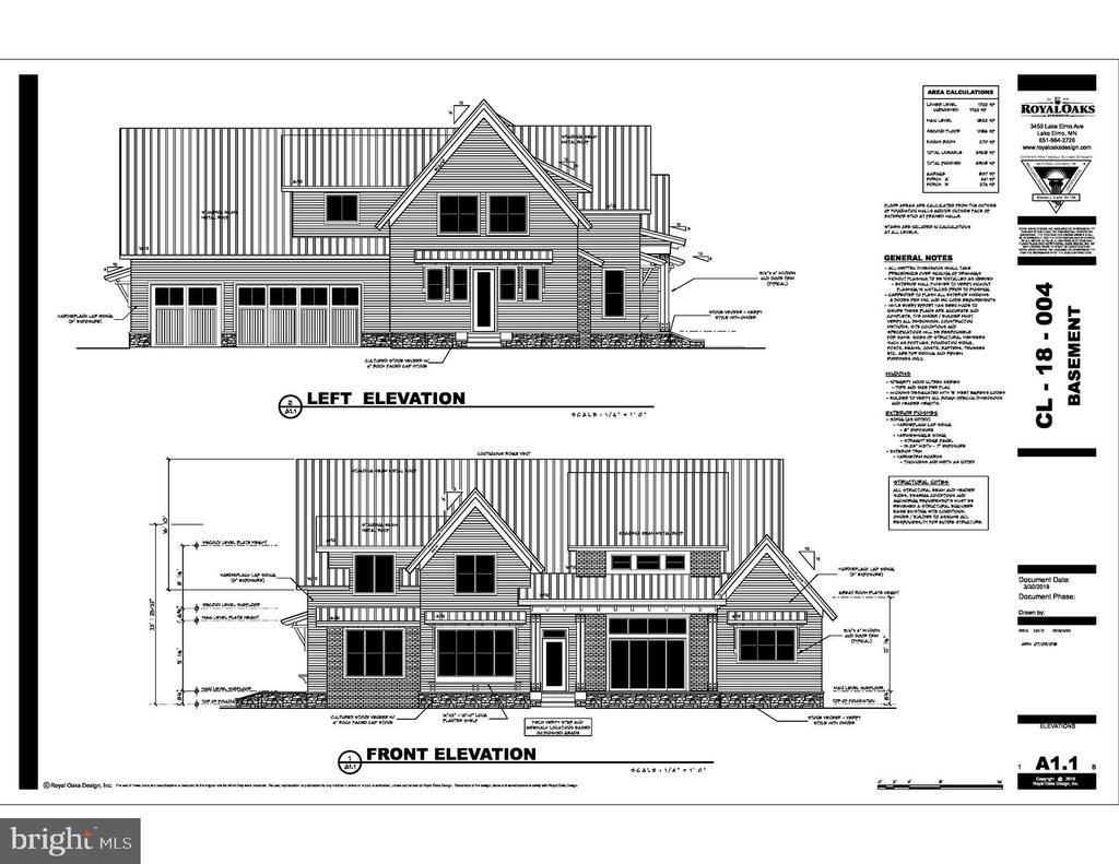 Builder's Architectural Rendering - 1405 W JOPPA RD, TOWSON