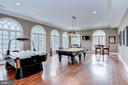 Lower Level Recreation Room - 7712 GEORGETOWN PIKE, MCLEAN