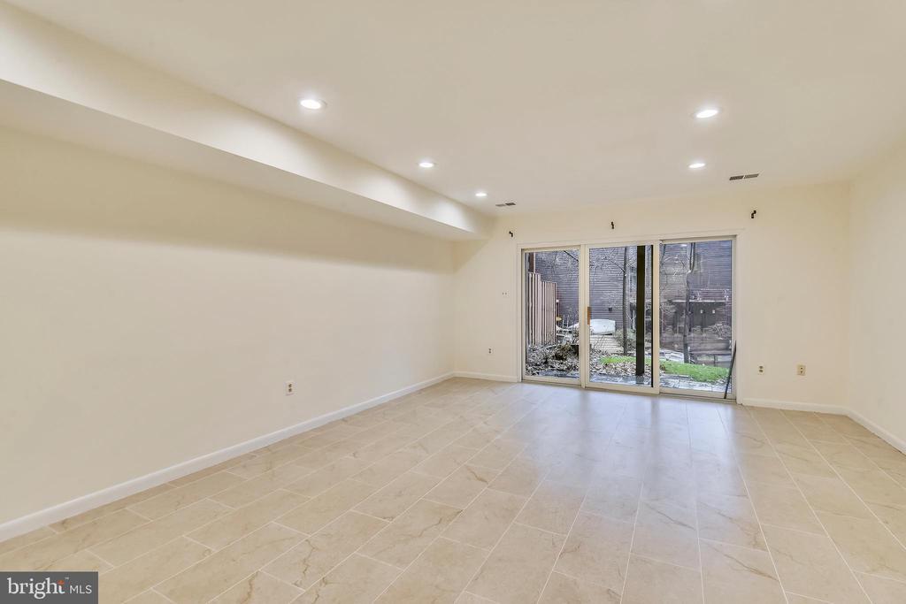 Basement has tile floor & recessed lighting - 2014 SWANS NECK WAY, RESTON