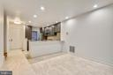 Dining area open to kitchen w/breakfast bar - 2014 SWANS NECK WAY, RESTON