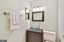 Master bath #2 has shower w/tile surround - 2014 SWANS NECK WAY, RESTON