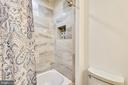 Master bath #1 has tub w/tile surround & niche - 2014 SWANS NECK WAY, RESTON