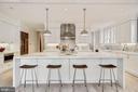 Kitchen - 1431 33RD ST NW, WASHINGTON