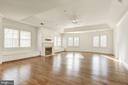 Expansive Master Suite with Gas Fireplace - 1006 BRYAN POND CT, MCLEAN