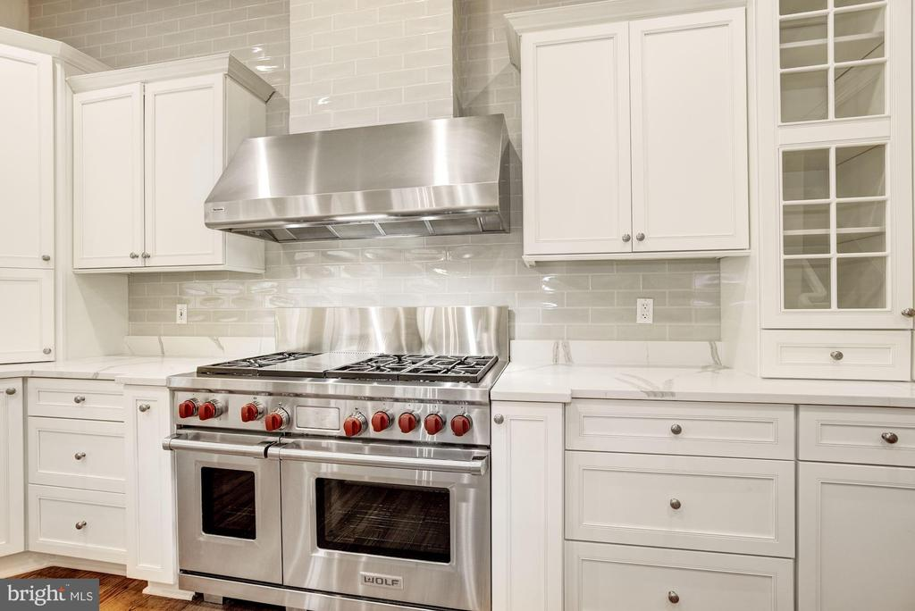 Wolf Range and Upgraded Appliances - 1006 BRYAN POND CT, MCLEAN