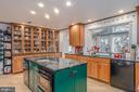 A Gourmet Kitchen w High-End Kitchen Cabinets - 9927 S GLEN RD, POTOMAC