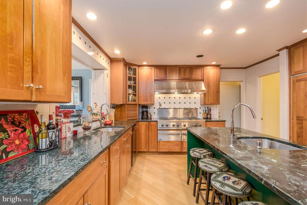 Granite Countertops, Marble Island, SS Appliances - 9927 S GLEN RD, POTOMAC