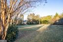 Backyard - 2 Acre Lot - 9927 S GLEN RD, POTOMAC