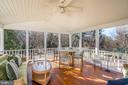 A Screen Porch Perfect for Morning Coffee - 9927 S GLEN RD, POTOMAC